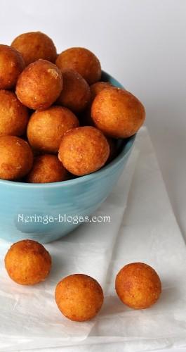 gruzdinti bulviu - surio kamuoliukai