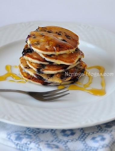 pancakes su melynemis