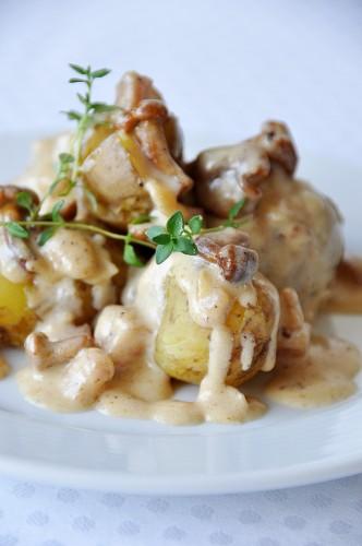 bulves su voveraiciu padazu