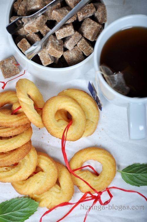 trapus citrininiai sausainiai