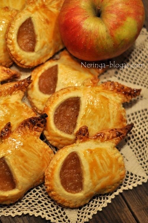 Sausainukai obuoliukai