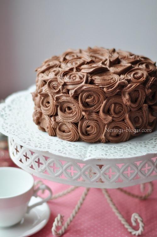 tortas Juodas miskas