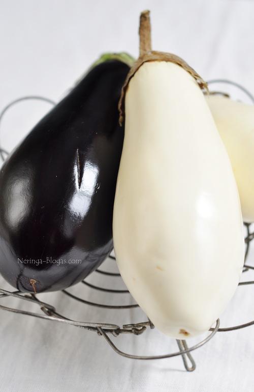 baltieji baklazanai