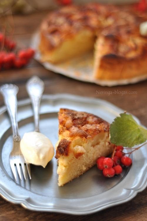 obuoliu pyragas