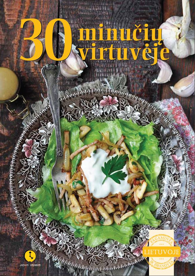 knyga 30 minuciu virtuveje