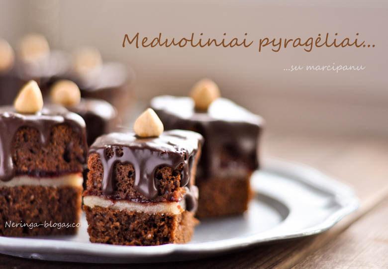 meduoliniai pyrageliai su marcipanu