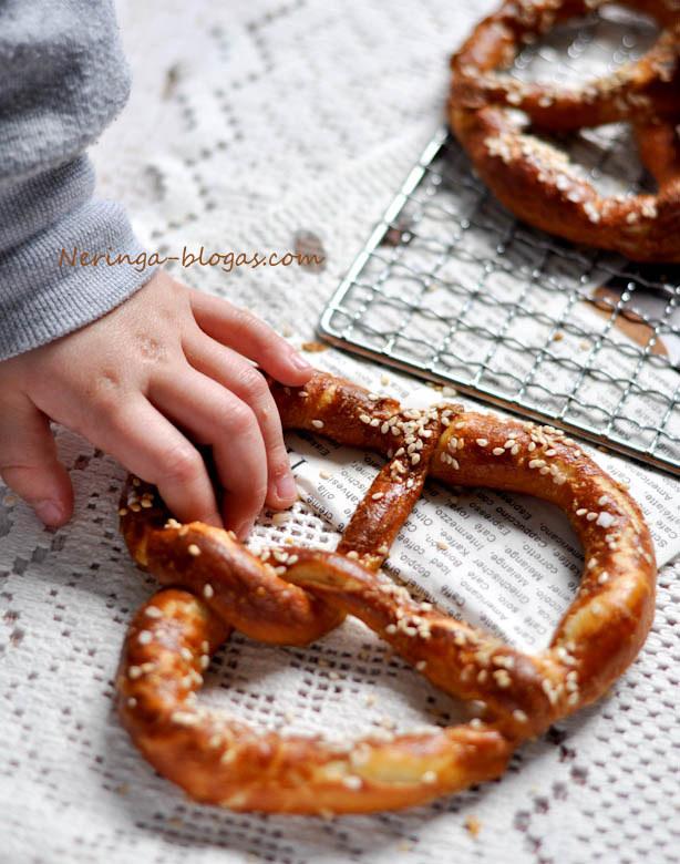 riestainiai - pretzels
