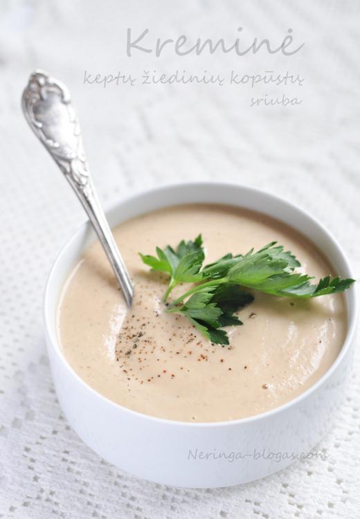 kremine ziediniu kopustu sriuba