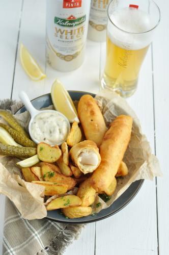 Menkes pirsteliai alaus tempuroje (1)