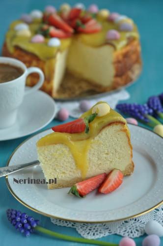 varskes pyragas su mascarpone ir lemon curd