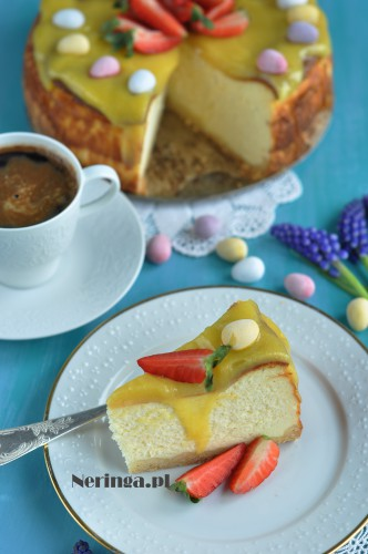 varskes pyragas su mascarpone ir lemon curdu